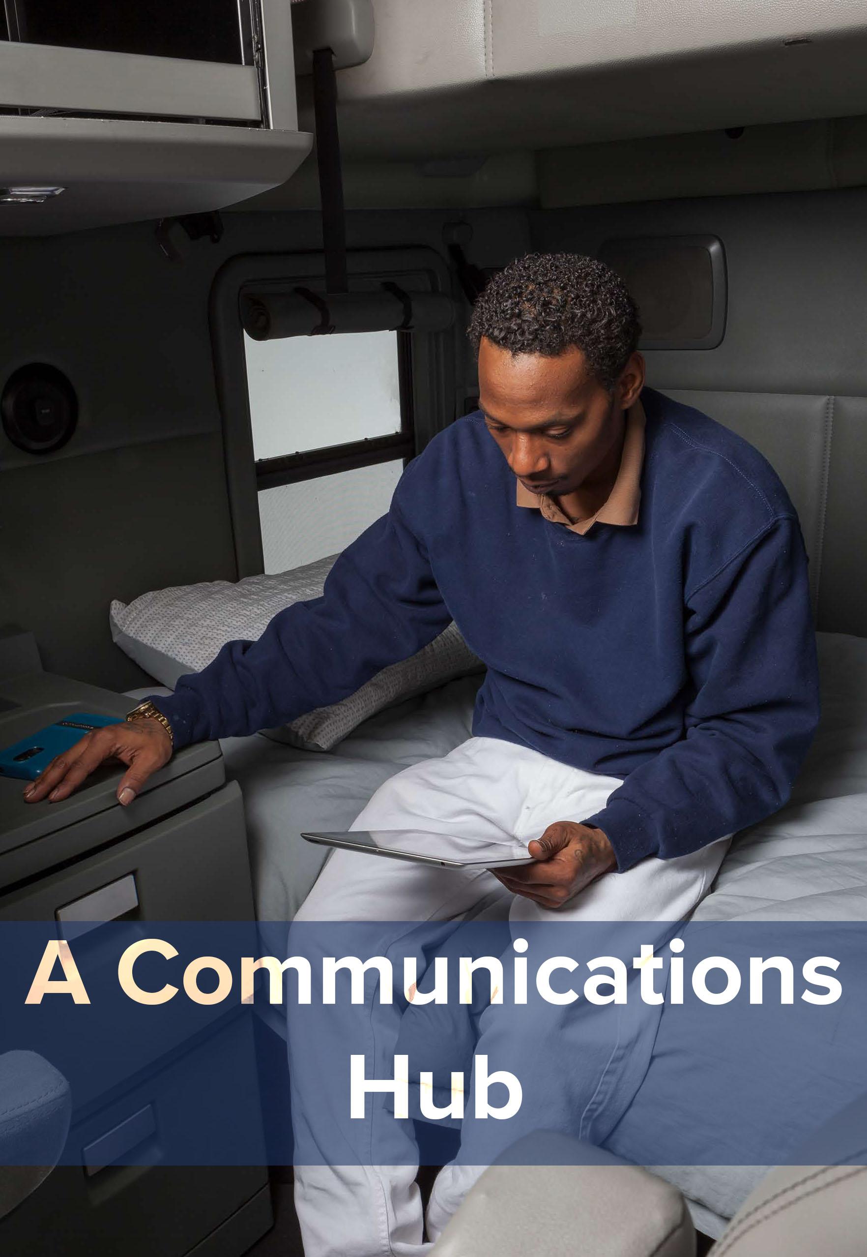 Your rewards platform serves as a communications hub for drivers.